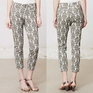 Anthropologie Cartonnier Charlie Ankle Pants 8